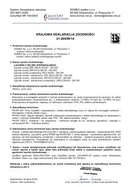 Krajowa deklaracja zgodności 01,005_W_ 14 - Łączniki