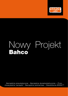 Nowy projekt BAHCO