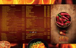 Pobierz pełne MENU w PDF - Restauracja Chili Lublin