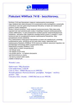 WINFLOCK 7418 OFERTA