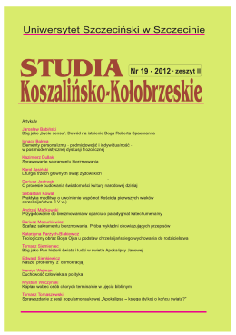 Untitled - Studia Koszalińsko