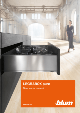 LEGRABOX pure - Dac-Ter