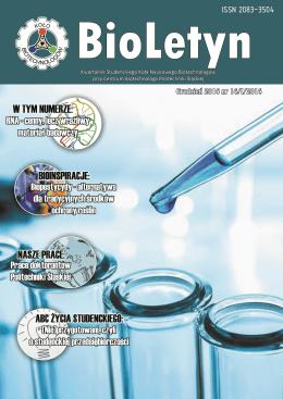 BioLetyn_14_I_2014_Full - Katedra Biotechnologii Środowiskowej