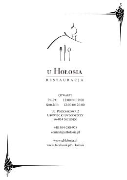 Restauracja u Hołosia