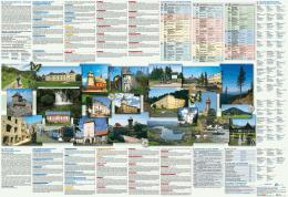 Mapa letní Moravskoslezský kraj/Mapa letnia Okręg Morawsko