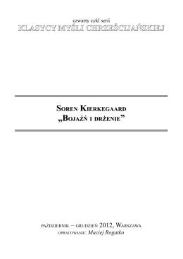 klasycy myśli chrześcijańskiej soren kierkegaard