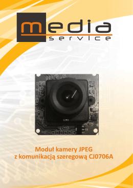 Moduł kamery JPEG z komunikacją szeregową CJ0706A - El-Tec