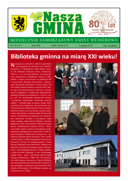 Nasza Gmina Listopad 2014