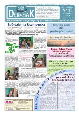 Nr 15 - 2014 Czerwiec