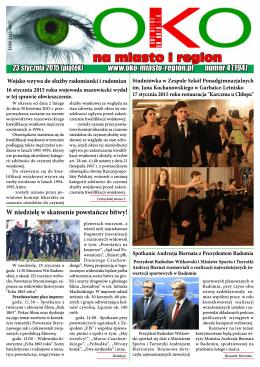 Oko na Miasto i Region nr 4.pdf - Gazeta OKO