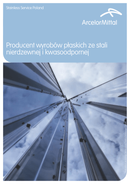 Stainless Service Poland Brochure