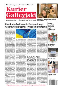 Kurier Galicyjski 20/2011