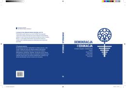 DEMOKRACJA I EDUKACJA DEMOKRACJA I EDUKACJA