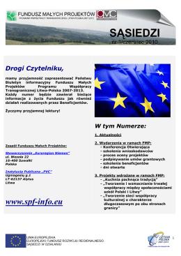 www.spf-info.eu - Fundusz Małych Projektów