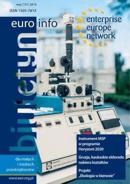 Biuletyn Euro Info MAJ 2014 - Polska Agencja Rozwoju