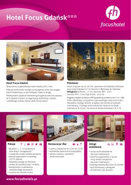 Hotel Focus Gdańsk***