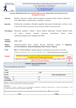 Zasady przeprowadzania inwentaryzacji w jednostkach publicznych