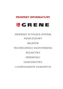 Grene - Prospekt informacyjny