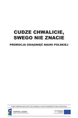 CUDZE CHWALICIE, SWEGO NIE ZNACIE - Fundacja OIC