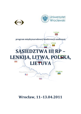 Program Konferencji Litwa (pdf)