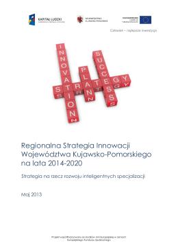 Regionalna Strategia Innowacji Województwa Kujawsko