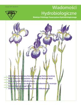 pobierz Wiadomości Hydrobiologiczne zeszyt 1/2013