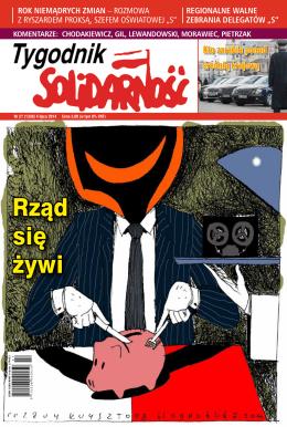 Rząd się żywi - Tygodnik Solidarność