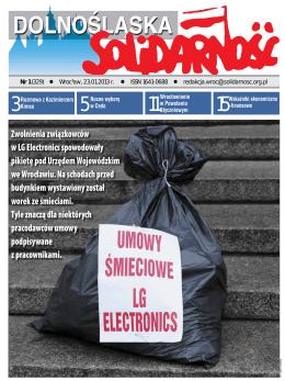 ze stycznia 2013 r. - Region Dolny Śląsk NSZZ Solidarność
