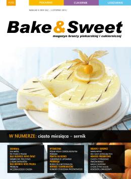w numerze: ciasto miesiąca – sernik