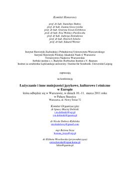 Program z Urządzeń Peryferyjnych dla studiów zaocznych rozbity na