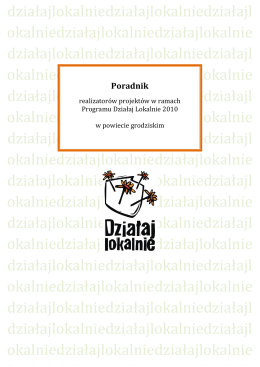 Działaj Lokalnie - dzialajlokalnie.gostyn.pl