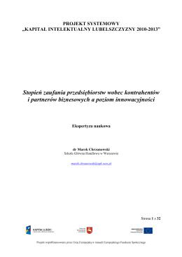 Składki zaufania z zastosowaniem niesymetrycznych funkcji strat