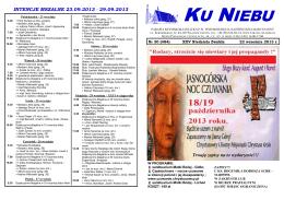 Numer 22.09.2013 r. - Parafia we Władysławowie