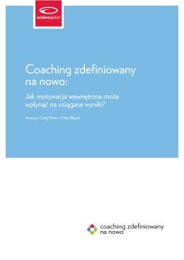 Coaching zdefiniowany na nowo: