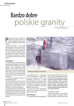 Bardzo dobre polskie granity 40