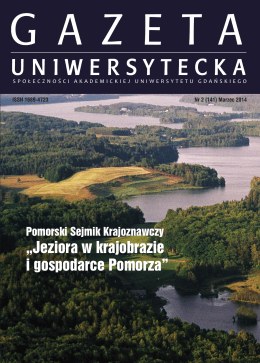 magazine_Layout 1 - Gazeta Uniwersytetu Gdańskiego