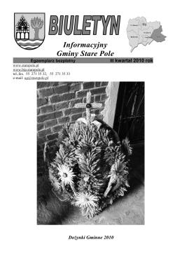 Informacyjny Gminy Stare Pole