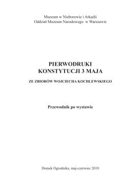 pierwodruki konstytucji 3 maja - Ustawa Rządowa, czyli Konstytucja