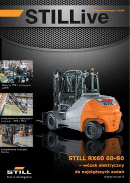STILL RX60 60-80 – wózek elektryczny do najcięższych zadań