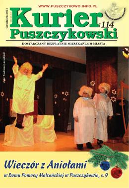 Kurier 114-fonty.indd - Stowarzyszenie Przyjaciół Puszczykowa