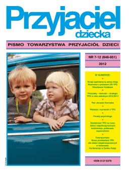 Przyjaciel Dziecka 7-12.2012 - Towarzystwo Przyjaciół Dzieci