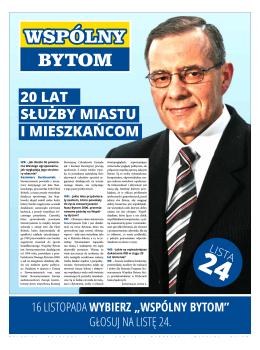 Wywiad z Prezesem Stow. Kazimierzem Bartkowiakiem. Nasi