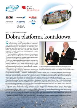 Pobierz Reportaż Sympozjum (pdf) - EURO-PAN