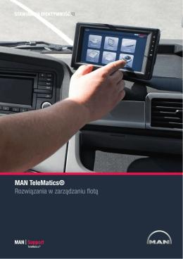 MAN TeleMatics® Rozwiązania w zarządzaniu flotą - AGRO-STAR