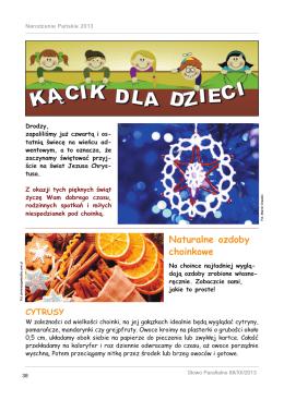 Kącik dla dzieci (pdf)