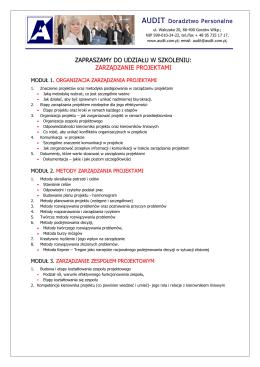 Gorzów Wlkp - Audit - Doradztwo personalne