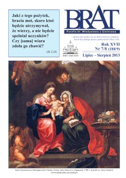 Lipiec – Sierpień 2013 Rok XVII Nr 7/8 (188/9) Jaki z tego pożytek