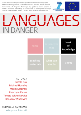 pobierz - Languages In Danger