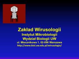 Zakład Wirusologii