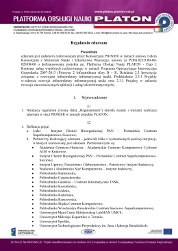 Regulamin eduroam - eduroam w Polsce